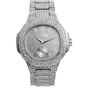 Metal Color on Blast Silver Mens Watch